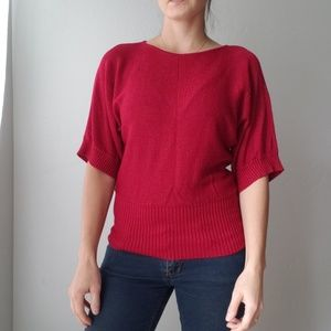 Cable & Gauge Short Sleeve Sweater